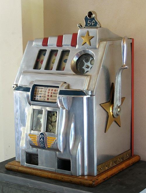 Pace Slot Machine Quot Deluxe Chrome Bell Quot 1946