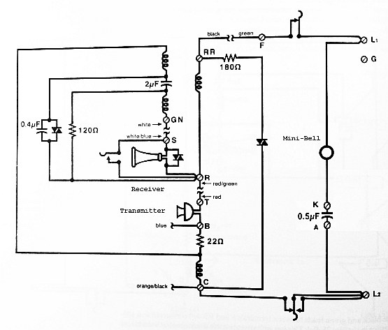 western electric 2554 wiring diagram