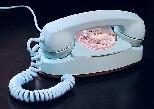 Rotary Dial Princess Telephone